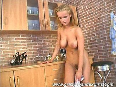 Crazy girl tits | -crazy-spandex-tits-