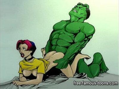 Famous cartoon superheroes porn parody | -animation-cartoons-wild-