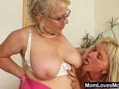 Big titted gramma penetrates a madame | -huge tits-titjob-
