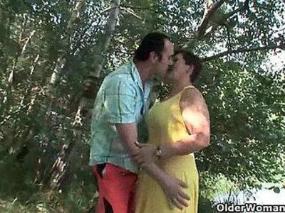 Mom loves outdoor sex | -grandma-love-mom-outdoor-