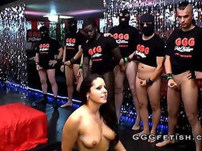 Extreme gangbang and bukkakes on sluts | -cum swallow-extreme-gangbang-sluts-