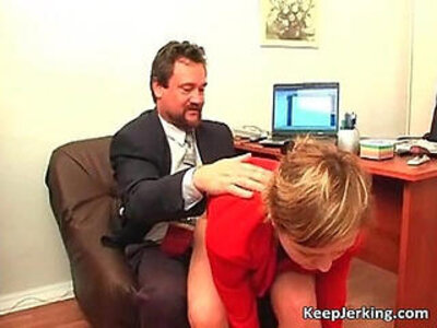 Boss nails horny secretary in office | -boss-horny-office-secretary-