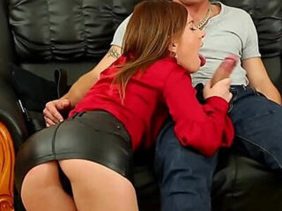 Beautiful Leony Aprill in Hot Leather Miniskirt HD Porn | -beautiful-high definition-leather-skirt-