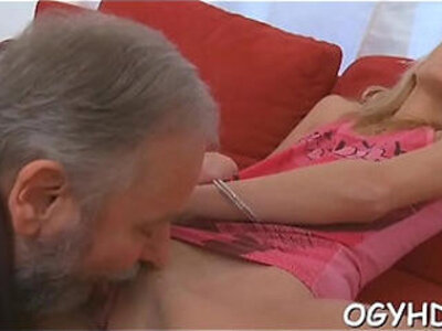 Old dude fucks young moist pussy   -dude-old and young-older-pussy-young-