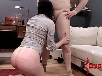 Brutal assfuck, caning, and enema drink for extreme masochist | -ass fucking-brutal-extreme-