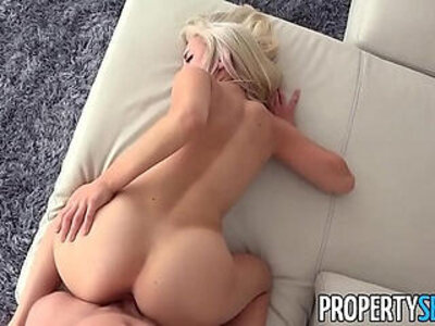 PropertySex Sexy blonde real estate agent mixes business with pleasure | -agent-blonde-pleasure-