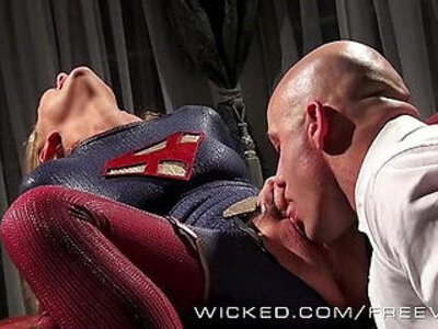 Wicked Lex fucks supergirl | -uniform-