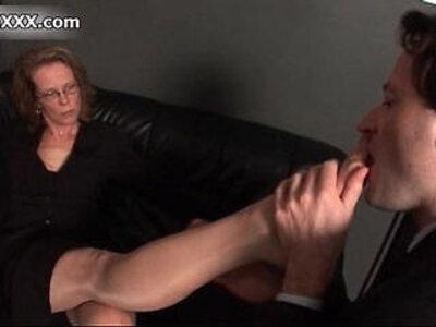 Nasty wild mature gets her feet sucked | -european-foot-nasty-sluts-wild-