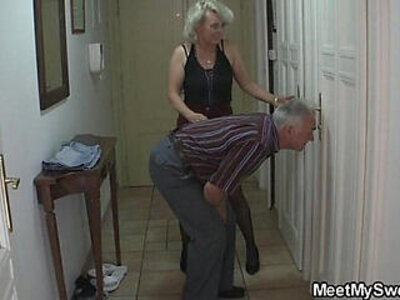 She gets lured into threesome by his parents | -3some-grandpa-