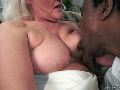 Grey Granny on big black monster cock | -black-granny-monster cock-