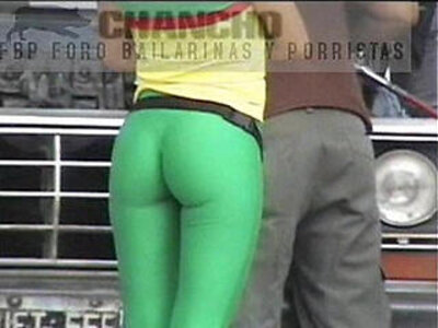 Great ass green spandex | -ass-spandex-