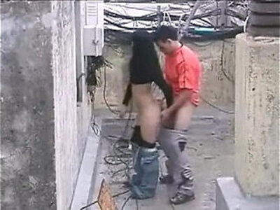 Brave man gets girl fuck in the public   -girl-public-young teen-