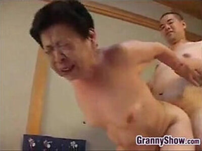 Japanese Grandma Giving A Great Blowjob | -blowjob-grandma-japanese-