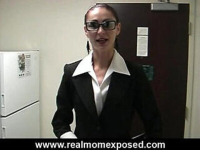 Alicias blow job interview | -blowjob-interview-mom-