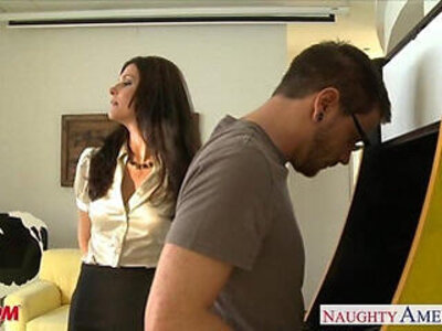 Stockinged mom india summer gets cunt fucked and facialized   -cunt-facials-indian-mom-