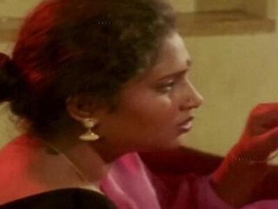 Hot Aunty and Man in Room Scene Uma Maheshwari hot glamour scene | -aunty-glamour-