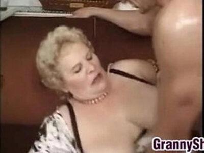Fat And Busty Granny Enjoying A Cock | -busty-cock-enjoying-fat-grandma-