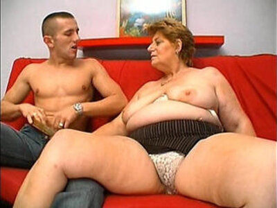 Mature granny hungry skin head young man sex   -fat-granny-hungry-mature-old man-young-