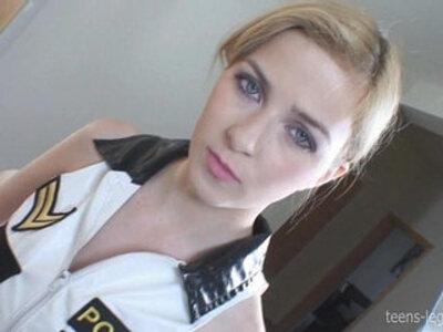 Abigaile Policewoman Footjob | -footjob-