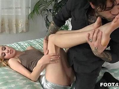 Haley Reed Foot Fetish Daily | -foot fetish-footjob-