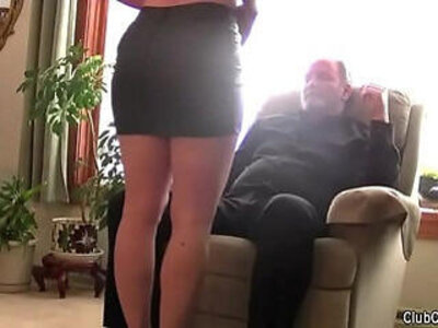 Beautiful wife blindfolded and shared by her husband humiliation, old guy, hard, moans | -beautiful-blindfolded-gay-humiliation-husband-old and young-