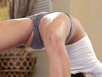 Squirting lesbians Adriana Chechik, Megan Rain | -lesbian-squirt-yoga-