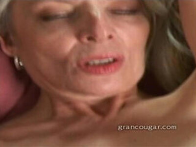 Grancougar milf rubbing her wet pussy after stripping out of her clothes | -grandma-milf-rubbing-striptease-wet-