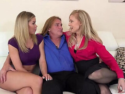 FILF Jessa Rhodes stepparents Evan Stone And Nina Hartley invading her for the weekend   -stepfamily-