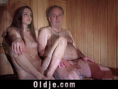 Baby Jewel freshy muffin gets pumped by an old prick   -babe-cunnilingus-older-