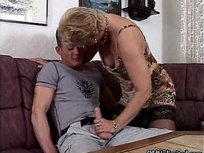 Horny blonde granny in stockings sucking | -bizarre-blonde-horny-stockings-sucking-