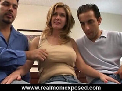 Double penetration with your wife | -busty-double-gorgeous-wife-
