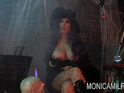 Halloween in norway with monicamilf and the beast | -norway-