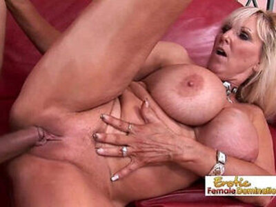 Fit granny finally gets her old shaved pussy fucked by hard again | -fitness-granny-older-shaved-