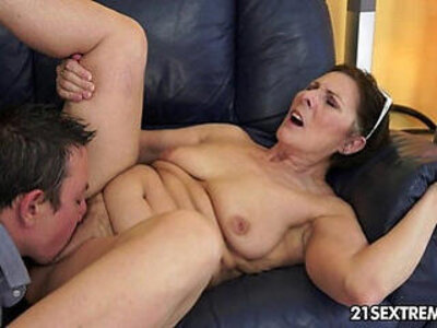 Cock hungry gilf margo and her newest boy toy   -boy-cock-gilf-granny-hungry-toys-