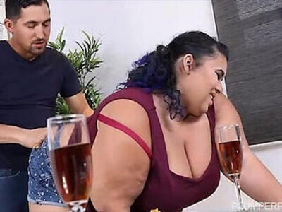 Busty Exotic BBW Charlotte Ward has Belly Button Worshipped   -bbw-busty-exotic-