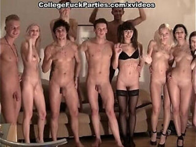 strip with an orgy at the party | -college-orgy-party-striptease-