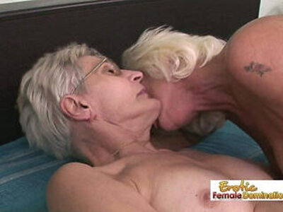 Nasty grannies having lesbian sex in the old folks home | -granny-homemade-lesbian-nasty-older-