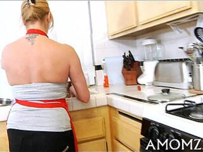 Enchanting mom in a thrilling act | -girl-mom-