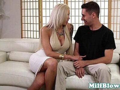 Pornstar Nina Elle fucks cock between bigtits | -big tits-cock-face fuck-pornstar-