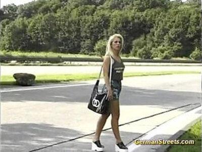 German Girl sucks cock in car trip | -bukkake-car-cock-german-