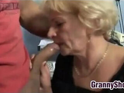 Horny Grandma In Fishnets Wants To Fuck | -fishnets-grandma-horny-